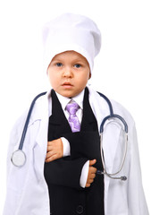 Young doctor, Toddler.