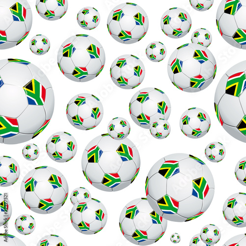 South Africa soccer ball pattern