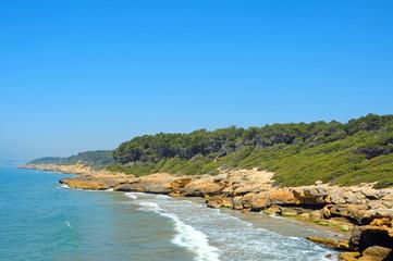 beaches of Tarragona, Spain