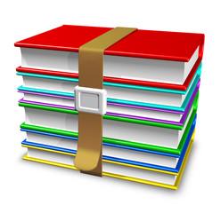 Libri di Scuola-School Books-3d