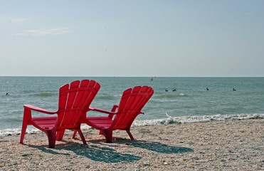 Adiirondack beach chairs