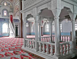 Moschee, Innenarchitektur