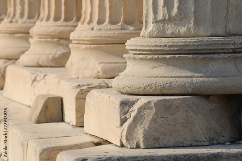 greek columns © javarman