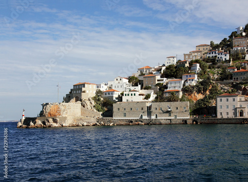 Greek island Hydra