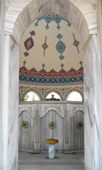 Moschee,  Waschplatz