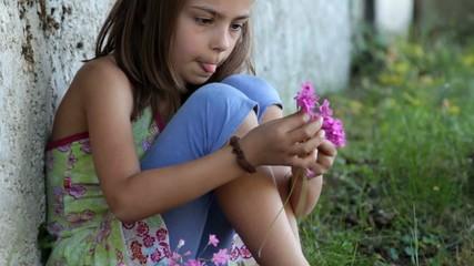appliquée dans la composition de son petit bouquet