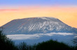 Sunrise on mount Kilimanjaro