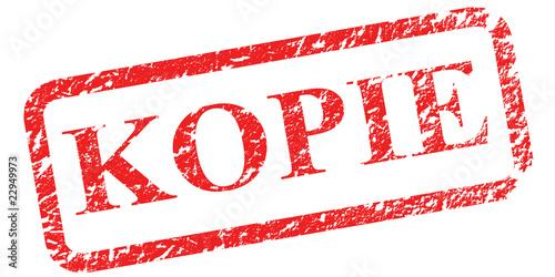 Stempel KOPIE Grunge-Look
