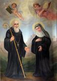 Saint Benedict and Saint Scholastica