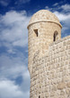 Watch tower in a restored Portuguese Fort in Bahrain