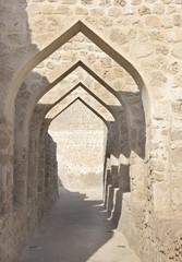 Archway inside Bahrain fort