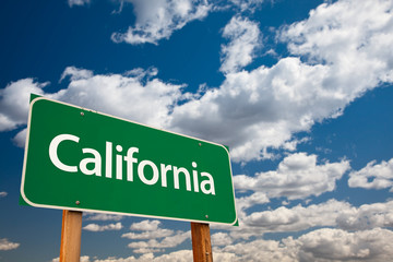 California Green Road Sign