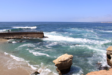 Crashing Waves, La Jolla Shores