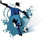Fototapety soccer europe in attack