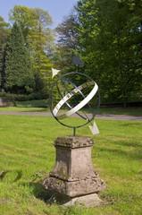 Sundial, Biljoen Castle, Velp, The Netherlands