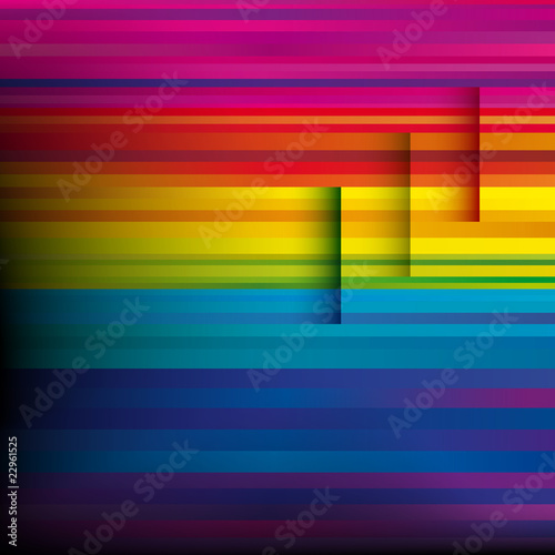 Vector Abstract colorful background.