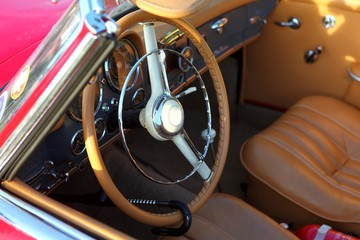 interieur cuir automobile