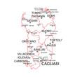 Sardegna province e città