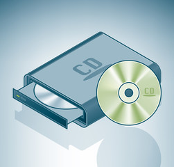 Portable CD-ROM drive