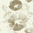 roleta: Romantic seamless pattern