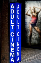 Adult cinema
