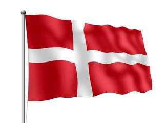 Dänemark-Flagge