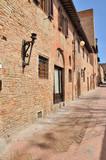 Certaldo, strada medievale-