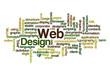 Web Design - Word Cloud