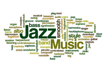 Jazz - Word Cloud