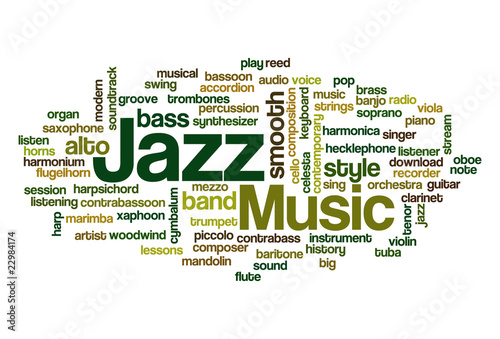 Jazz - Word Cloud