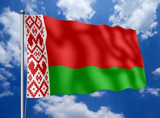 Weißrussland-Fahne