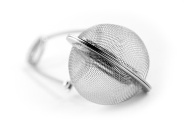 tea strainer close-up