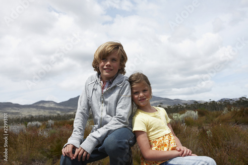 Children in the countryside
