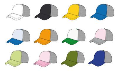 gorra rapper colores