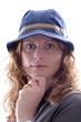 Frau mit Hut #2