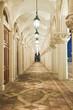 corridor, italian building style
