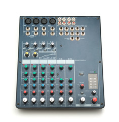 Isolated mixing console