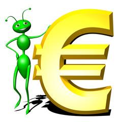 Formica Euro-Euro Ant Cartoon