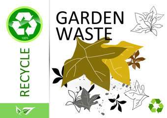 Please recycle garden waste