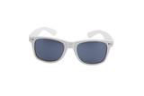 vintage white sunglasses, ultraviolet protection poster