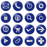 Web computer bubble  Icons, Vector File pictogram poster