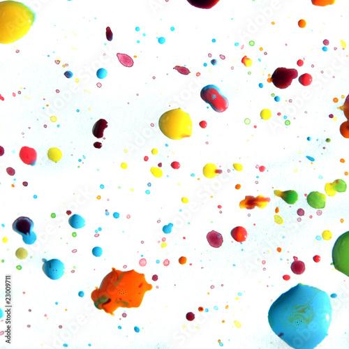 Gotas de pintura