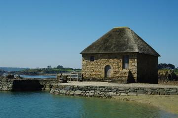 le moulin du Birlot à Bréhat
