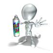 elliott 059, bombe, peinture, tag, tagger, peinture, rap