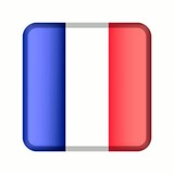 animation bouton drapeau france