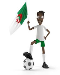 Algerian soccer player