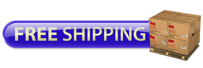 button free shipping