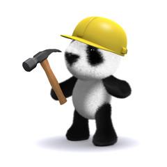 3d builder panda
