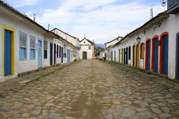 Straße in Parati