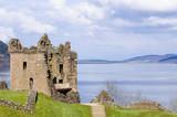 Fototapety Urquhart Castle on Loch Ness in Scotland